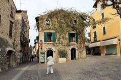 Sirmione на озере Garda (Италия) Стоковое Фото