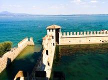 Sirmione Castello Scaligero Стоковые Фото