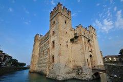 Sirmione Castle ,  Garda Lake - Italy Stock Image