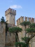 Sirmione Castle, Italy Stock Photography