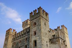 Sirmione Castle, Italy Stock Images
