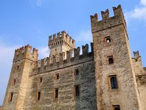 Sirmione Castle, Italy Royalty Free Stock Photo