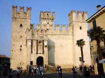 Sirmione Castle, Italy Royalty Free Stock Images