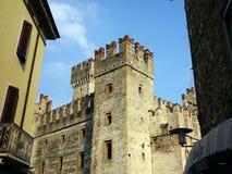 Sirmione Castle, Lake Garda, Italy Royalty Free Stock Photography
