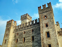 Sirmione Castle, Lake Garda, Italy Stock Photo