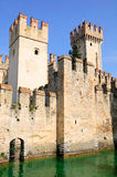Sirmione castle. Royalty Free Stock Photography