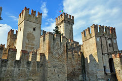 Sirmione castle Stock Images