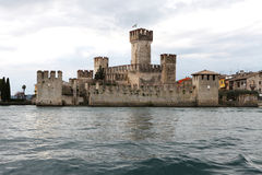 Sirmione castle Stock Photo