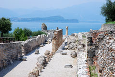 Sirmione-Catull Grottos Royalty Free Stock Photo