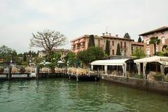 Sirmione and Garda lake, Italy royalty free stock photos