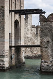 Sirmione drawbridge Stock Photography