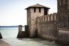 Sirmione fortification Stock Images
