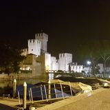 Sirmione. Fortress of Sirmione Royalty Free Stock Photos