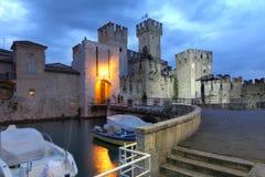 Sirmione Italien Arkivbild
