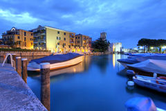 Sirmione Italien arkivfoton