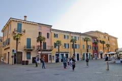 Sirmione, Italien Stockfotos