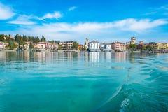 Sirmione - lago Garda Imagenes de archivo