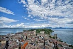 Sirmione - lago Garda (Itália) imagens de stock royalty free
