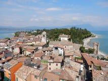 Sirmione Lake Garda, Italien Fotografering för Bildbyråer