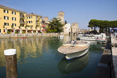Sirmione and Lake Garda, Italy Royalty Free Stock Photography