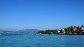 Sirmione on Lake Garda, Italy, Europe Royalty Free Stock Photography