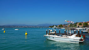 Sirmione on Lake Garda, Italy, Europe Stock Photos