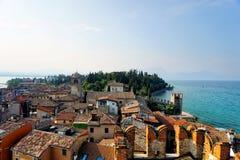 Sirmione and Lake Garda Royalty Free Stock Photo