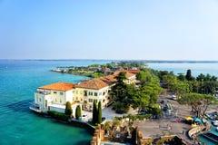 Sirmione and Lake Garda Royalty Free Stock Photos