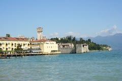 Sirmione largo de Garda Italie Image stock