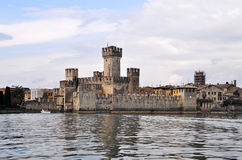 Sirmione, Lombardy, Italy. Sirmione is a comune in the province of Brescia, in Lombardy (northern Italy). It has a historical centre which is located on the Royalty Free Stock Photos