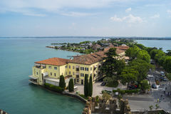 Sirmione. One of the best comunes on Lago di Garda - Sirmione Royalty Free Stock Photos