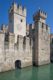 Sirmione's castle Royalty Free Stock Image