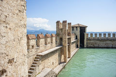 Sirmione's castle Royalty Free Stock Photo