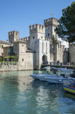 Sirmione's castle Stock Photos