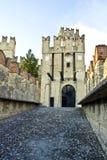 sirmione scaliger замока s Стоковые Фотографии RF