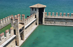 Sirmione town, Garda lake, Italy Royalty Free Stock Photos