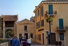 Sirmione, Włochy Zdjęcie Royalty Free