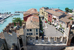 sirmione Włoch gardy jeziora. Zdjęcie Stock