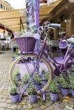 Sirmione, Włochy Okno sklep mydlarnia i duchy od lawendy Fotografia Stock