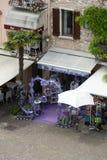 Sirmione, Włochy Okno sklep mydlarnia i duchy od lawendy Obraz Royalty Free