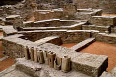 Sirmium - palais impérial Image stock