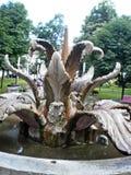 Sirmium Sremska Mitrovica, faucet в парке города Стоковое Изображение