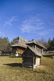 Sirogojno, ethno village Royalty Free Stock Image