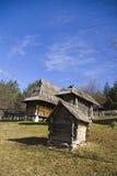 Sirogojno, village d'ethno Image libre de droits