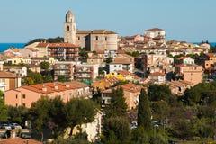 Sirolo miasteczko na Adriatic morzu Zdjęcie Royalty Free