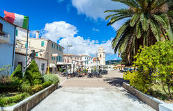Sirolo town, Marche, Italy Stock Photography