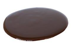 Sirop de chocolat Photographie stock libre de droits