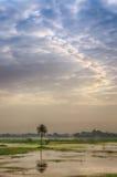Sirpur jezioro, Indore, Madhya Pradesh Obraz Royalty Free