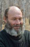 Sirva con la barba 15 Imágenes de archivo libres de regalías