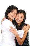 Sirva de madre al amor de la hija Imágenes de archivo libres de regalías